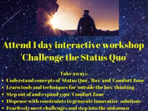Workshop on Challenge the Status Quo