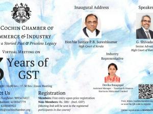 3 Years of GST - Virtual Meeting