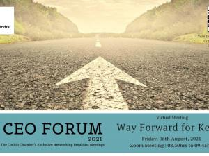 CEO FORUM Virtual Meeting - August 2021