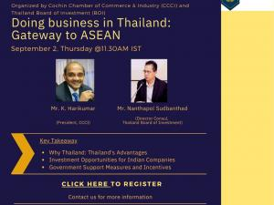 Interactive Session with The Thailand Board of Investment (BOI)