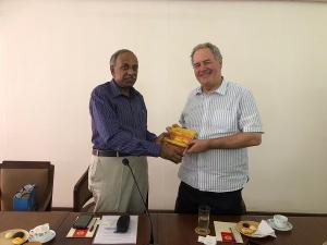 Visit of the Hon'ble British MP Mr. Bob Blackman to the Cochin Chamber