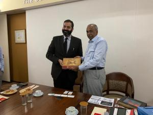 Visit of the Vice-Consul and Trade Commissioner, Consulate General of Canada
