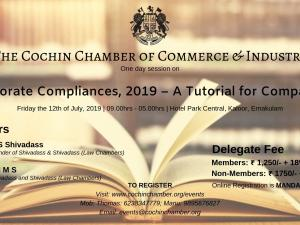 One Day Session on Corporate Compliances, 2019