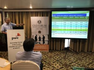 CEO FORUM 2017-18 -  5th Breakfast Meeting - The Crises facing the Banking Sector in the Country