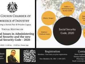 Practical Issues in Administering Social Security and the New Social Security Code - 2020