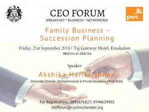 CEO FORUM 2017-18 - 10th Breakfast Meeting