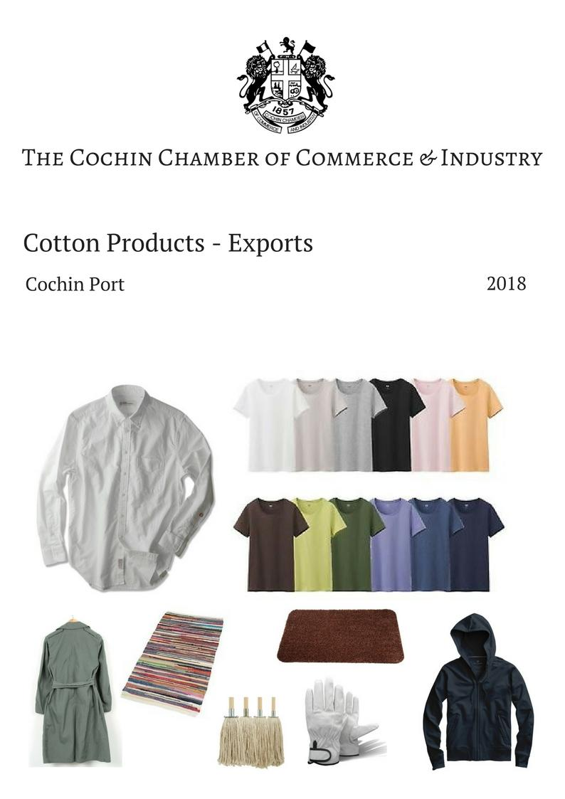 COTTON PRODUCTS EXPORTS